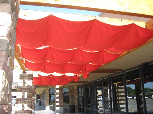 Shade screen awnings in Nevada