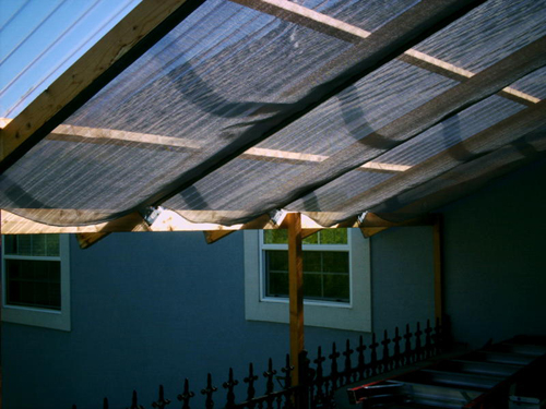 Nevada shade screen awnings