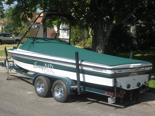 Custom Snap On Boat Covers